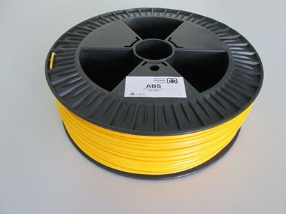 Picture of ABS plastic 2,1kg 3mm - yellow